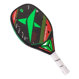 Raquete Drop Shot Beach Tennis Murano Fibra de Carbono