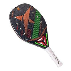 Raquete Beach Tennis Drop Shot Heritage Fibra de Carbono