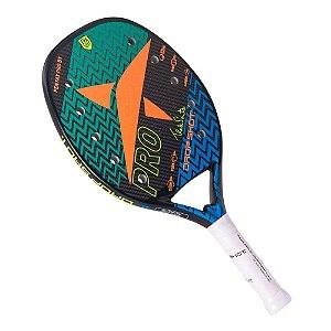Raquete Beach Tennis Drop Shot Pentax PRO Fibra de Carbono
