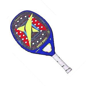 Raquete Beach Tennis Drop Shot Versus 1.0 Fibra de Carbono