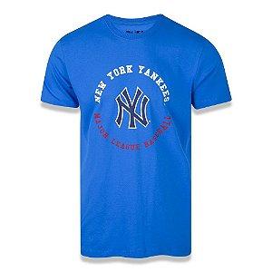 Camiseta New Era New York Yankees MLB College Baseball Azul