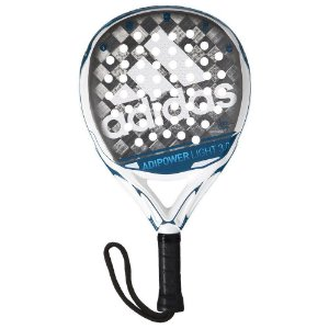 Raquete Padel Adidas Adipower Light 3.0 Azul e Branco