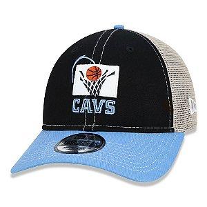 Boné New Era Cleveland Cavaliers NBA 920 Netback Aba Curva