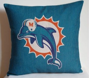 Almofada Miami Dolphins - NFL
