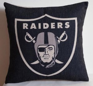 Almofada Oakland Raiders - NFL