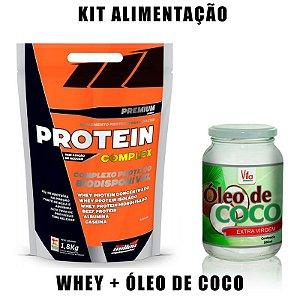 Kit Whey + Óleo de Coco