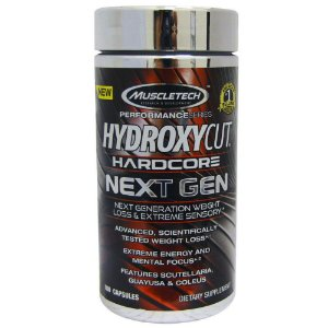 Hydroxycut Hardcore Next Gen - 100 Cápsulas - Muscletech