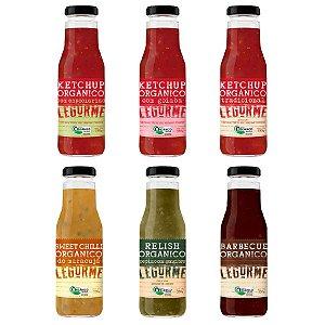 Ketchups, Barbecue e Molhos Orgânicos - Legurmê