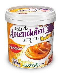 Pasta de Amendoim Integral (1,02Kg) - Mandubim