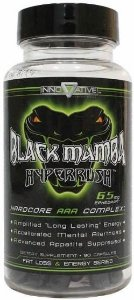 Black Mamba Hyperrush - 90 Caps - Innovative Labs