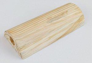 Travesseiro de Madeira Unibiótica - Pinus - Massageador Lombar