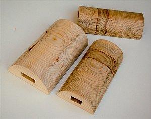 Travesseiro de Madeira Para dores nas Cervicais