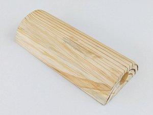 Travesseiro Japonês - Travesseiro de Madeira de Pinus - Para dores