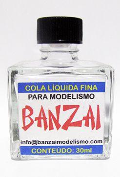 Cola Banzai Para Plastimodelismo - 30ml