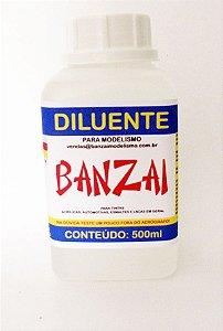 Diluente Banzai Para Modelismo - 500ml
