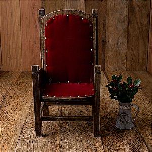 Cadeira São Nicolau para Ensaio Natal