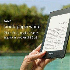 Novo Kindle Paperwhite – 8GB / 32GB – Agora à prova d'água