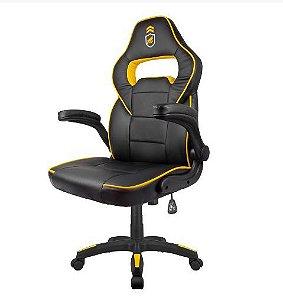 Cadeira Gamer Armor Preta com Amarelo - Gorila