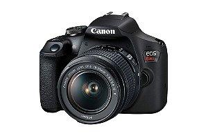 Câmera EOS Rebel T7 18-55ISII