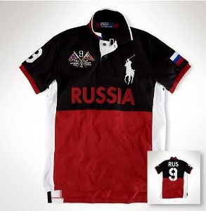 Camisa Polo Masculina Ralph Russia