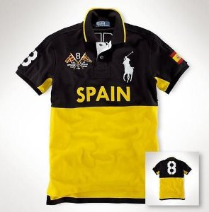 Camisa Polo Masculina Ralph Espanha
