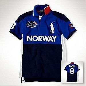 Camisa Polo Masculina Ralph Noruega