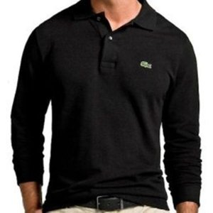 Camisa Polo Masculina Lacos Manga Longa Básica