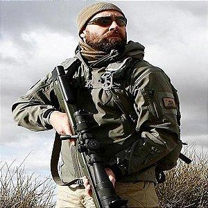 Jaqueta Masculina Impermeável Camp Militar Tático