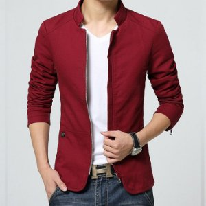 Jaqueta Masculina Hee Grand Casual Slim Fit