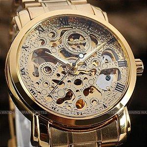 Relógio Masculino Winner Automático Modelo 03