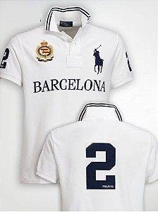 Camisa Polo Masculina Ralph Barcelona