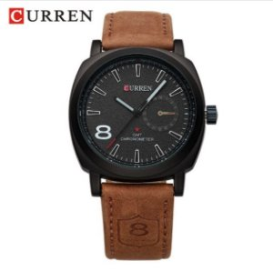 RelógioMasculino Curren GMT Chronometer Sport