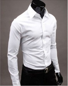 Camisa Masculina Casual Slim Fit Joker Pure