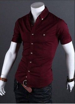 Camisa Masculina Casual Slim Fit Modelo 04