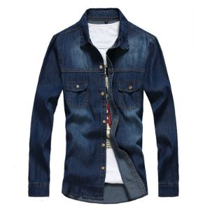 Camisa Masculina Casual Hee Grand Jeans