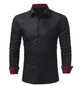 Camisa Masculina Casual John's BK Modelo 02