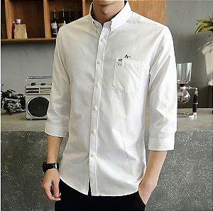 Camisa Masculina Casual Aram