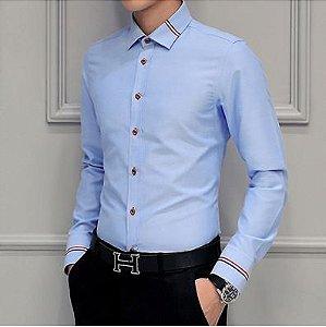 Camisa Masculina Social Ocasional