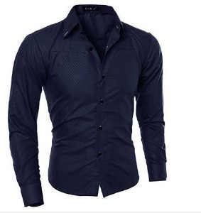 Camisa Masculina Casual Fashion Man