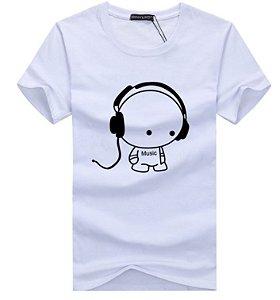 Camiseta Masculina Básica Modelo 02
