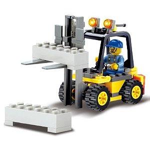 Empilhadeira de blocos