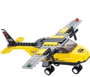 Avião Blocos de Construção