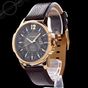 Relógio Masculino Curren Luxure  Modelo 03