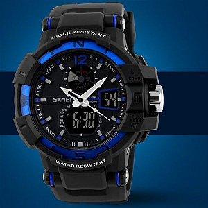 Relógio Masculino S-Shock Skmei Modelo 02