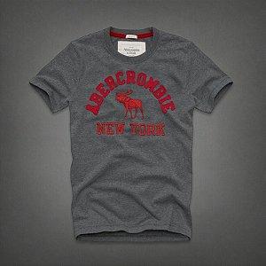 Camiseta Masculina Holli Aber A&F Modelo 25