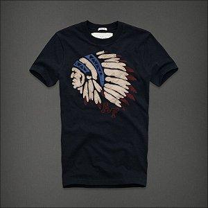 Camiseta Masculina Holli Aber A&F Modelo 32