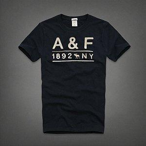 Camiseta Masculina Holli Aber A&F Modelo 34