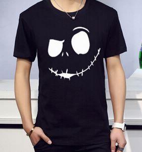 Camiseta Masculina Jack Skellington