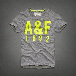 Camiseta Masculina Holli Aber A&F Modelo 43