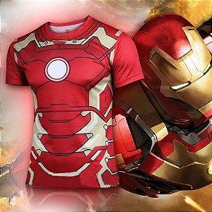 Camiseta Masculina Super-Heróis Modelo 01